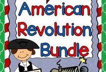 Revolutionary War Ideas / Revolutionary War:  Find the best ideas, activities, lessons, and resources for teaching the American Revolutionary War in your upper elementary classroom.  #revolutionarywar  #rockinresources  #americanrevolution