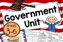 Government Ideas / Find the best ideas, activities, lessons, and resources to teach government in your upper elementary classroom!