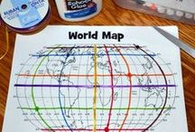 Geography Ideas / Find the best ideas, activities, lessons and resources for teaching geography in the elementary classroom.