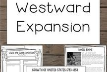 Westward Expansion Ideas / Find the best ideas, activities, lessons, and resources to teach Westward Expansion to your upper elementary classroom.