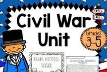 Civil War Ideas / Find the best ideas, activities, lessons, and resources for teaching upper elementary Civil War.