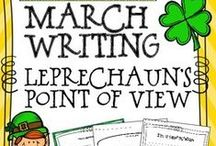 St. Patrick's Day Teaching Ideas / Find the best ideas, activities, and resources to teach St. Patrick's Day and other March-themed lessons to upper elementary students.