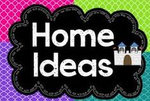 Home Ideas that Rock! / Moving into our new home, I want to decorate and find great DIY projects to make my house unique!