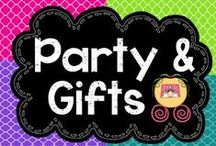 Party and Gift Ideas that Rock / I love to throw a good party with unique decorations, activities, and food.  I also love to be creative when giving a gift!