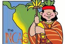 Ancient Civilization Ideas / Resources for Mayas, Incas, and Aztecs.  Teaching ideas, resources, activities, lesson plans for Ancient Civilization.