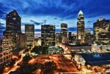 Charlotte, NC / We are located in Charlotte North Carolina and want to help everyone feel as at home as we do. If you are looking for activities, photography, interesting facts, or artwork about Charlotte, this board is for you!
