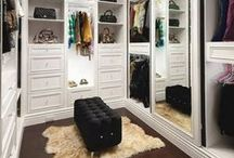 Closet Inspiration / If you are looking for a little inspiration or fantasizing about your dream closet, look no further. This board is all about the closets that make us say WOW and want to buy more clothes to fill them with!