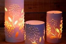 *HOME ~ LIGHTS / CANDLES / Everything lighting or candles / by Janet Marie