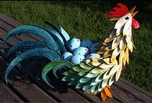 *CRAFT ~ BIRDS  WHIMSICAL / Here is where you will find any means of making a bird. There are some pretty elaborate ones and some goofy ones, some that show tutorials for the curious and brave. The fun is in putting your own twist on a creation so go ahead make it the way you envision it to be. If it doesn't cooperate with you don't abandon the poor creature... keep trying till you get it the way you want it or set it aside til you learn the techniques better. It's great therapy and cheaper too...