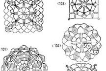 *CROCHET MOTIFS PATTERNS / This is for motifs for Irish Crochet and Freeform. / by Janet Marie