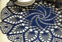 *CROCHET DOILY / To give our homes that personal touch. Thread crochet is so pretty, versatile, and endures the tests of time... ENJOY ~!~ / by Janet Marie