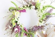Wreath Decorations / wreath decorations - floral, paper and anything else!