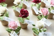 Place Settings / place settings and table decorations for dinners, weddings & parties