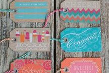 Tags  / Gift, place and decorative tags