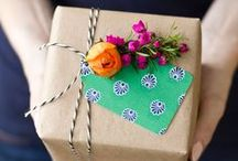 Gift Wrap / gorgeous gift wrapping & ideas for wrapping and presentation of gifts