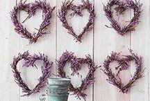 Lavender Decorations / Lavender - heavenly scented decorations