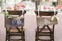 Aisle & Chair Decorations / Wedding ideas for Aisle and Chair decorations