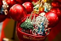 Christmas/Disney Ornaments! / by 💋Blackrose💋