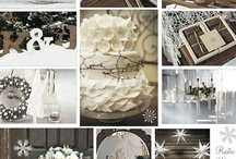 Mountain Winter Wedding Inspiration Board / Hey Guys  Here are some inspirations for a winter wedding! If you see anything cool please feel to pin it!  Looking forward to putting you all to work :)  Nature is cheap, so I figure it will make great decoration ideas and themes.......  Happy Hunting! Allana