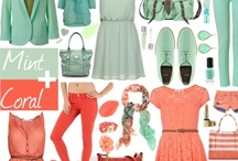 Mint & Coral - Spring 2013