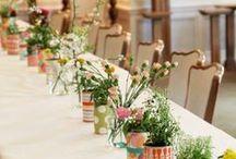 Centros de mesa {Centerpieces}  / Inspiración para centros de mesa y arreglos de flores. The perfect inspiration for centerpieces wedding, baby shower, holidays.