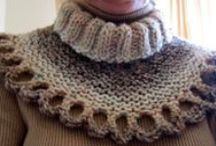 *CROCHET COWLS / COLLARS / For cowls, collars / by Janet Marie