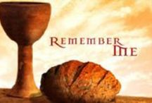 "**FEAST ~ UNLEAVEN BREAD** / ""Kingdom of God begins"", first day of  Week. 2nd of the Feasts.  Leviticus 23:6 Chag HaMotzi. The night after Passover the 15th day of Nisan. You take all the levened bread out of your house (leavened in the Bible represents sin and evil) and for seven days you must eat unleavened bread symbolizing a holy walk. Our Lord is known as the Bread of Life and Bethlehem in Hebrew means ""House of Bread"". / by Janet Marie"