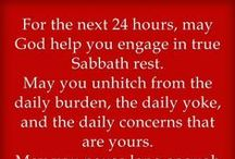 *SABBATH is the 7th Day / Keep holy the Sabbath. It's a commandment not a suggestion. God made the earth in 6 days and rested on the 7th. Our 7th day is Saturday not Sunday... it's the pagans that changed it and people like sheep, just follow... make sure you're following the shepherd and not a stranger over the cliff of deception cause it goes down not up. / by Janet Marie