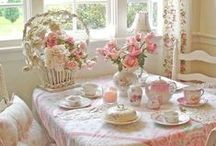 *HOME ~ SHABBY CHIC / by Janet Marie