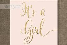 2nd baby shower themes / Baby Shower for Baby Girl / by Mercedes Livi
