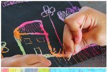 Arte para niños / Kids Art activities. Actividades para fomentar el arte en los niños.