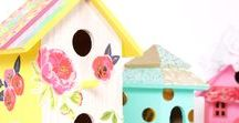 Idées pour décorer une cabane à oiseaux