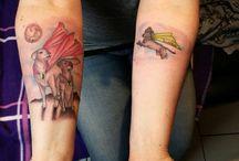 Tattoos Schmerz & Freude