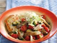 Snel aan tafel / Gevarieerd en gezond eten, maar niet lang in de keuken staan? Deze recepten staan binnen 30 minuten op tafel.