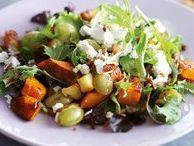 Salade / Snel, verfrissend en lekker gezond. Een salade kan altijd! Lekker als gezonde lunch of voor 's avonds als je geen tijd hebt om te koken.