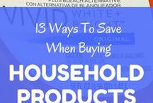 Household Products / Your home is literally draining you of cash! Here are several small things that you can do that will add up in a big way.  Visit us at 1000waystosave.com for more.