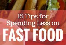 Eat for Less / Food is wonderful!  But -boy- does it add up quick!  Whether you're going out to eat or making food at home, here are some ways to save money on food.  Visit us at 1000waystosave.com to see more.