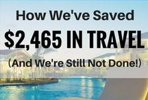 Travel Hacks / Traveling is not cheap!  But with a few simple tricks, you might be able to spend a lot less than you'd think to take that family vacation you've always wanted to take.  Here's a few pins that will show you how its done.  Visit us at 1000waystosave.com for more!