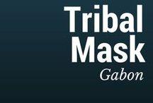 Gabon Tribal Mask / Gabonese tribal mask