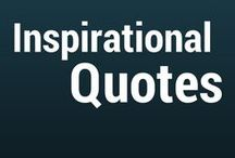 Inspirational Quotes / Curated quotes