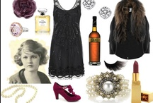#fashions w/ nods to various eras...style board / Style icons and fashion ideas based on when I was dressing with a nod to the 20s, 30s and sometimes blended with 40s and 50 s.