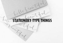 Stationery type things