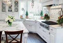 WHITE KITCHENS / Light and bright ideas for our DIY kitchen remodel.