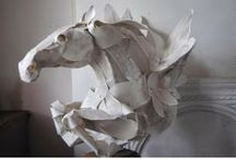 Art Made From Paper / It is amazing what can be done with a simple piece of paper.... / by Beth