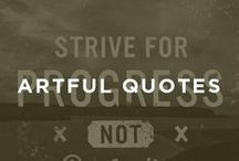 UGALLERY: Artful Quotes / Stay inspired! / by UGallery