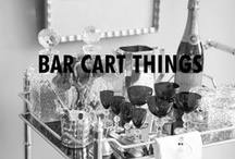 Bar cart things