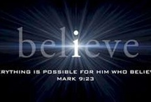 Believe!   / by Duane-Barb Martin