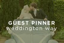 "Guest Pinner: Weddington Way / Stylists from the online bridal boutique Weddington Way have pinned some of their favorite inspiration from our site and beyond, in the spirit of ""something blue.""    / by UGallery"