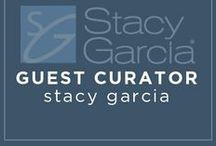 Guest Curator: Stacy Garcia, Hospitality Designer / Stacy Garcia creates the products and patterns that inspire today's leading hospitality designers. The Stacy Garcia brand connects you with color trends, cutting edge product design, and high end style. From hospitality design professionals to ordinary people who love design, Stacy Garcia is your connection to a lifestyle less ordinary.