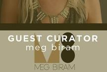 Guest Curator: Meg Biram / Our newest Guest Curator has done it all. Meg Biram of megbiram.com is an accomplished blogger, social media, branding and online marketing consultant, entrepreneur, artist and designer and has been generous enough to use her many skills to design a fabulously chic collection for our site. / by UGallery